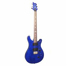 prs se custom 24 royal blue front