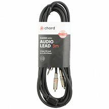 Chord Classic Audio Leads 3.5mm TRS Jack Plug – 2 x RCA Plugs (3m)