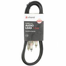 Chord Classic Audio Leads 2 x RCA Plugs – 2 x RCA Plugs (1.5m)