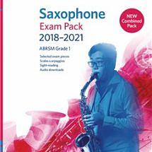 Saxophone Exam Pack 2018–2021, ABRSM