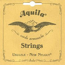 Aquila New Nylgut 42U Banjo Ukulele Strings – High G – Set of 4 Strings