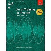 ABRSM Aural Training in Practice Grades 4 & 5 with CD