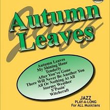 Autumn Leaves Jazz Play-Along Book