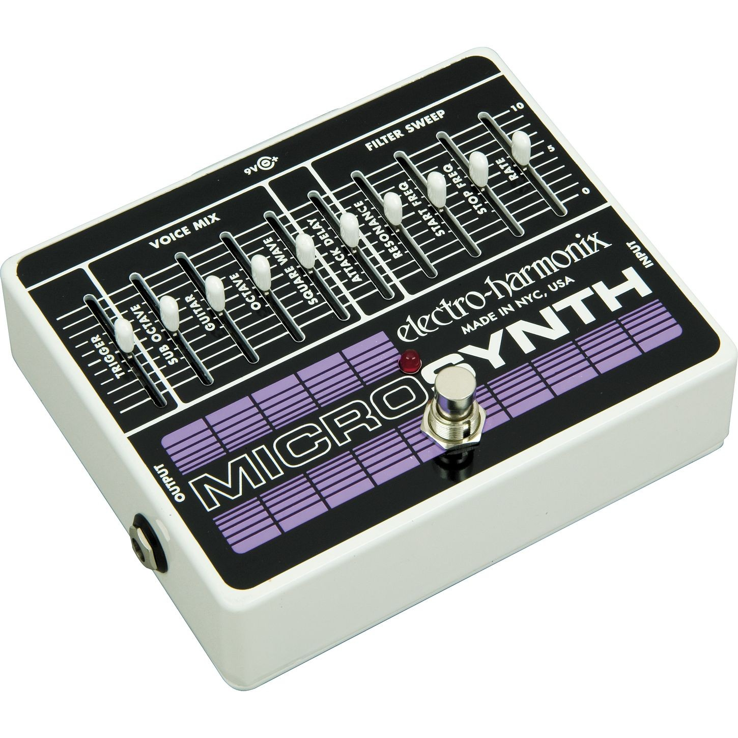 electro harmonix micro synthesizer pedal music world. Black Bedroom Furniture Sets. Home Design Ideas