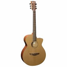 Faith FKVCD Naked Venus Electro Acoustic Guitar in Cedar/Mahogany Satin