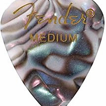 Fender 351 Shape Premium Pick  Abalone  Medium