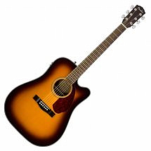 Fender CD140SCE (2017) Electro Acoustic Dreadnought Guitar Sunburst With Hard Case