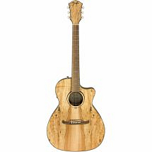 Fender 345CE Spalted Maple FSR Electro Acoustic Guitar