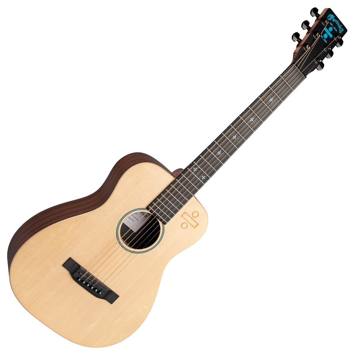 martin lx1 ed sheeran signature guitar divide model music world. Black Bedroom Furniture Sets. Home Design Ideas