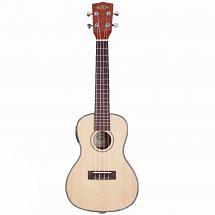Kala KA-SCGE Solid Spruce Top Gloss Finish Electro Acoustic Concert Ukulele