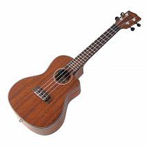 Kala KA-SMHCE-C Electro Acoustic Cutaway Concert Ukulele, Satin