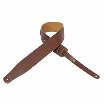 Levy's M26 BRN Leather Guitar Strap