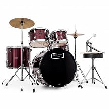 "Mapex Tornado III 22"" Rock Fusion Drum Kit, Burgundy"