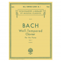 Bach Well-Tempered Clavier For the Piano: Book 1