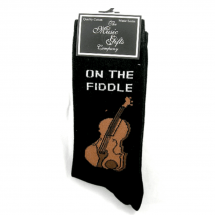 """On The Fiddle"" Violin Socks"