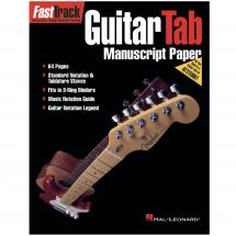 FastTrack: Guitar Tab Manuscript Paper
