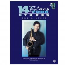 14 Blues & Funk Etudes: Bob Mintzer (Eb Instruments)