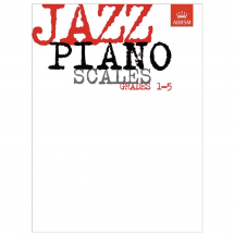 ABRSM Jazz Piano Scales Grades 1-5