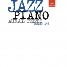 ABRSM Jazz Piano Aural Tests (Grade 1-3)