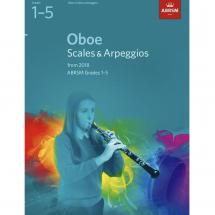 ABRSM Oboe Scales & Arpeggios 2018 (Grades 1-8)