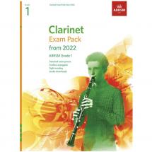 ABRSM Clarinet Exam Pack 2022 (Grades 1-5)