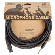 D'Addario Classic Series 25ft Microphone Cable XLR to Jack