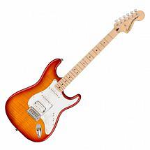 Squier Affinity Stratocaster FMT HSS MN, Sienna Sunburst