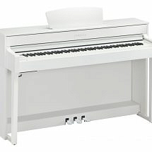 Yamaha CLP-635 Clavinova Digital Piano In White finish