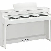 Yamaha CLP-645 Clavinova Digital Piano In White Finish