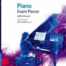ABRSM Piano Exam Pieces 2017-2018 (Book with CD)