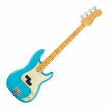 Fender American Professional II Precision Bass MN, Miami Blue