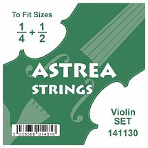 Astrea Violin String Set (1/4 – 1/2)