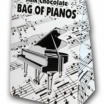 Belgian Milk Chocolate Bag of Pianos-100G