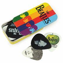 D'Addario Beatles Signature Pick Tin (15 Pack)