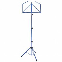 Kinsman Deluxe Music Stand And Bag-Blue