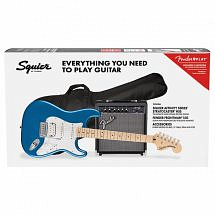 Squier Affinity Stratocaster HSS Pack MN, Lake Placid Blue