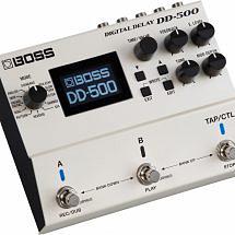 BOSS DD500 Digital Delay Pedal
