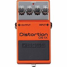 BOSS DS-1X Distortion Guitar FX Pedal