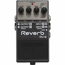 BOSS RV6 Compact Reverb Pedal