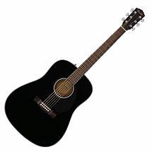 Fender CD60S Solid Top Acoustic Guitar Black