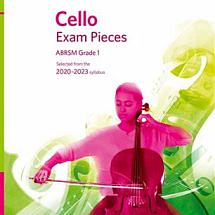 ABRSM Cello Exam Pieces 2020-2023 Score and Part and CD