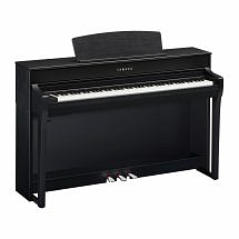 Yamaha CLP 745 Digital Piano, Satin Black