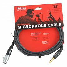 Planet Waves PWGM10 Custom Series Microphone Cables XLR to JACK 10ft