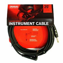 Planet Waves Custom Series Instrument Cable, Right Angle 20 feet