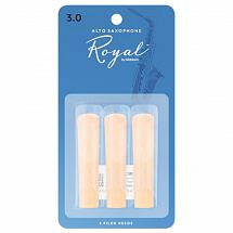 Rico Royal Reed 3-Pack (Alto Sax)