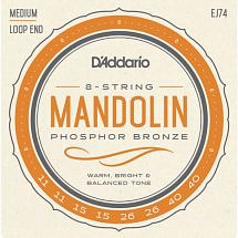 D'Addario EJ74 Phosphor Bronze Mandolin Strings