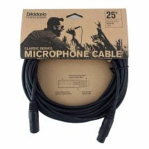 D'Addario Classic XLR (M) to XLR (F) Microphone Cable 25ft