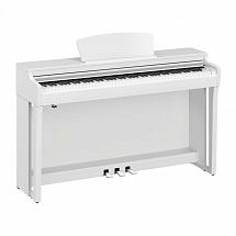 Yamaha CLP 725 Digital Piano, Satin White