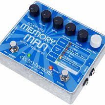Electro Harmonix Stereo Memory Man with Hazarai Delay Pedal