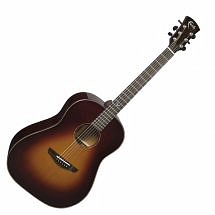Faith FRSB45 Mars Classic Burst Drop Shoulder Dreadnought